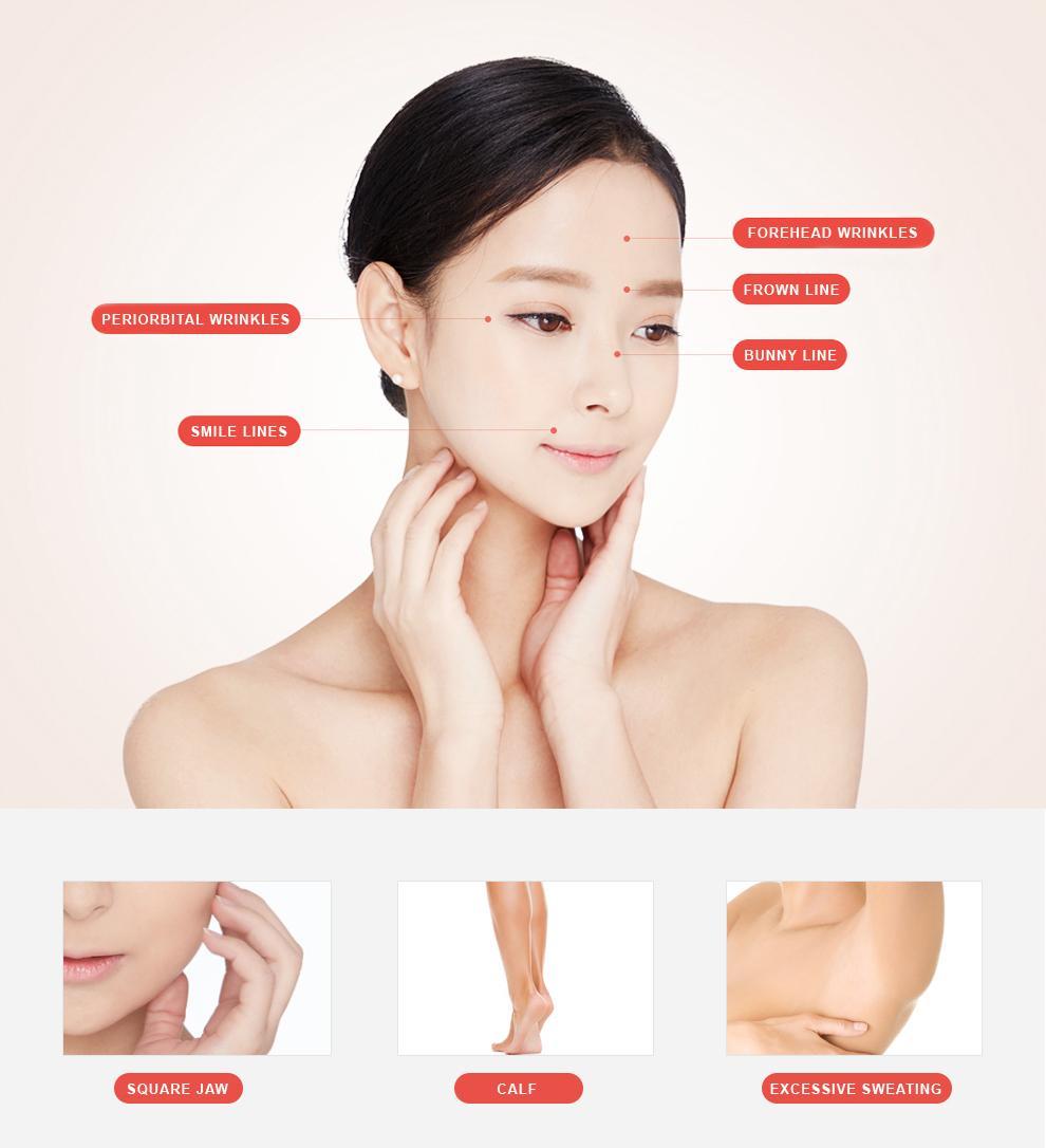 G-4 Botox-Filler botox surgery area